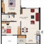 Planta Típica Tipo A (56.53 m2) Alaska Apartamentos